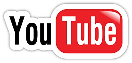 Amazon Com Youtube You Tube Sticker Decal 6 X 3 Automotive