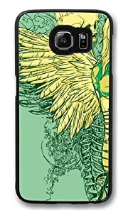 Falling Icon20 Polycarbonate Hard Case Cover for Samsung S6/Samsung Galaxy S6 Black