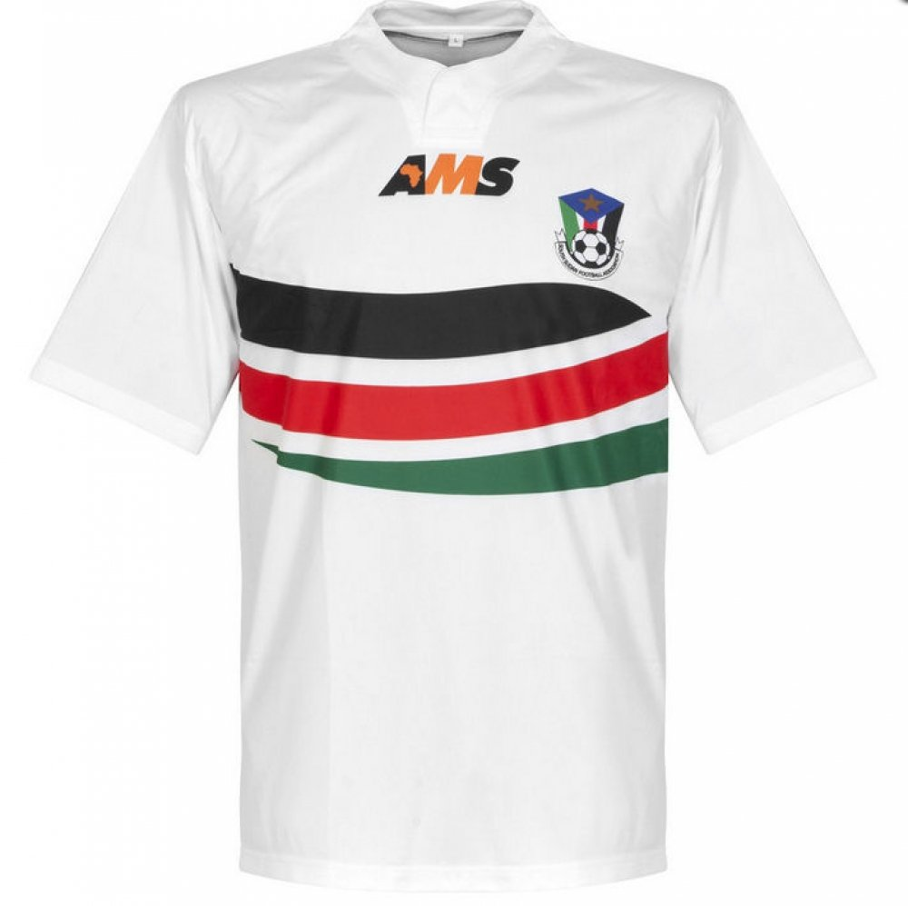 AMS 2015-2016 South Sudan Home Football Soccer T-Shirt Trikot
