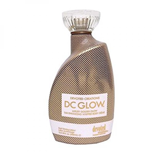 DC Glow, Tan Enhancing, Whipped Body Creme Lotion 13.5 Ounce by Devoted Creations