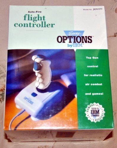 (IBM Easy Options Auto-Fire Flight Controller JOY577 )