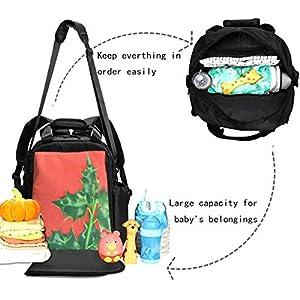 Diaper Bag Backpack Large Capacity Waterproof Apply to Mom Dad Travel Backpack