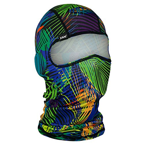 ZANheadgear Unisex-Adult Balaclava (Polyester Happy Hour) (Multicolor, One Size)