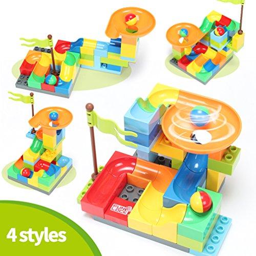 FUNTOK Marble Run Railway Construction Toys Star Travel Game 36pcs Building Blocks Toys for Child by FUNTOK (Image #2)