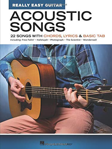 Acoustic Songs - Really Easy Guitar Series: 22 Songs with Chords, Lyrics & Basic Tab