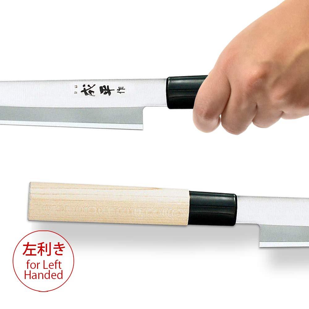 FC-84 Heisei #9000 Stainless Steel Sashimi Knife Blade Length 210mm Left-handed