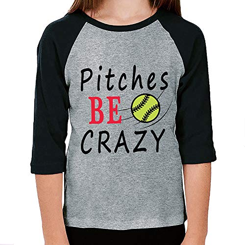 Fanient Infant Toddler Kids Baseball Raglan T-Shirt 3/4 Sleeve Toddler Athletic Jersey Only Child Print Sports Casual Raglan Tops 1-2 T