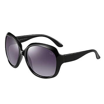 LQQAZY Gafas De Sol Marea para Mujeres 2018 Nuevo Elegante De Cara Redonda Gafas De Sol Polarizadas Gafas De Sol Gafas De Conducción Elegantes Y ...
