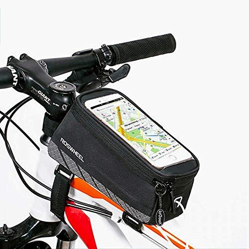 bedee Sacoche de vélo Compatible avec Smartphone Universel pour iPhone 6 Plus 6S 6 5S 5SE Samsung Galaxy S7 Edge
