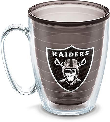 Tervis NFL Oakland Raiders Emblem Individual Mug, 16 oz, Quartz - 1086027