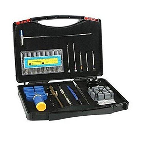 eBoTrade 19 pcs Watch Repair Tool Kit, Danibos Opener Link Remover Spring Bar Tool Carrying - Repair Me Eyeglasses Near