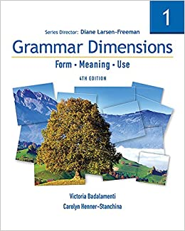 Book Grammar Dimensions 1: Form, Meaning, Use