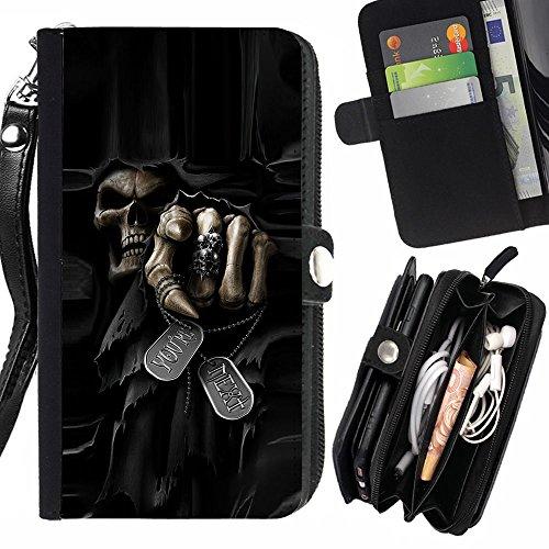 Evil Skull Wallet - 3