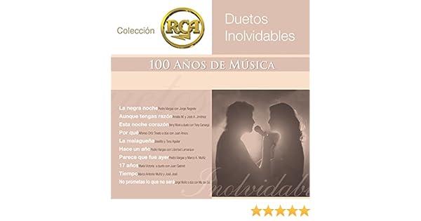 RCA 100 Anos De Musica - Segunda Parte (Duetos Inolvidables) by Various artists on Amazon Music - Amazon.com