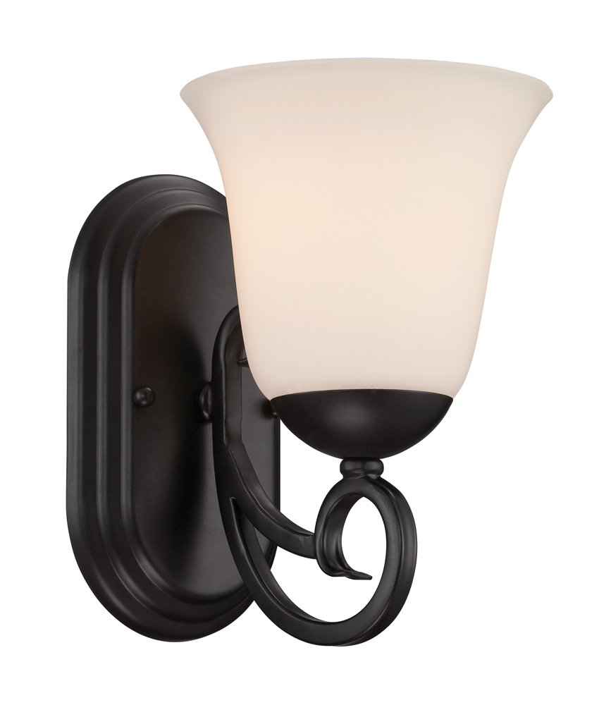 Designers Fountain 85201-ORB Addison Wall Sconce, Oil Rubbed Bronze