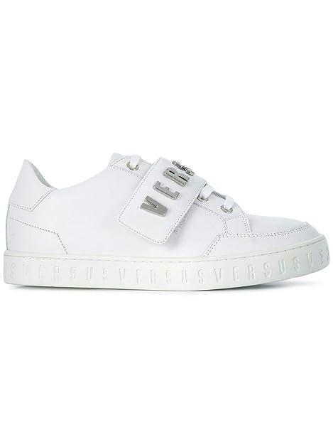 Versus Versace Sneakers Donna Fsx042cfvlnf0330n Pelle Bianco ...