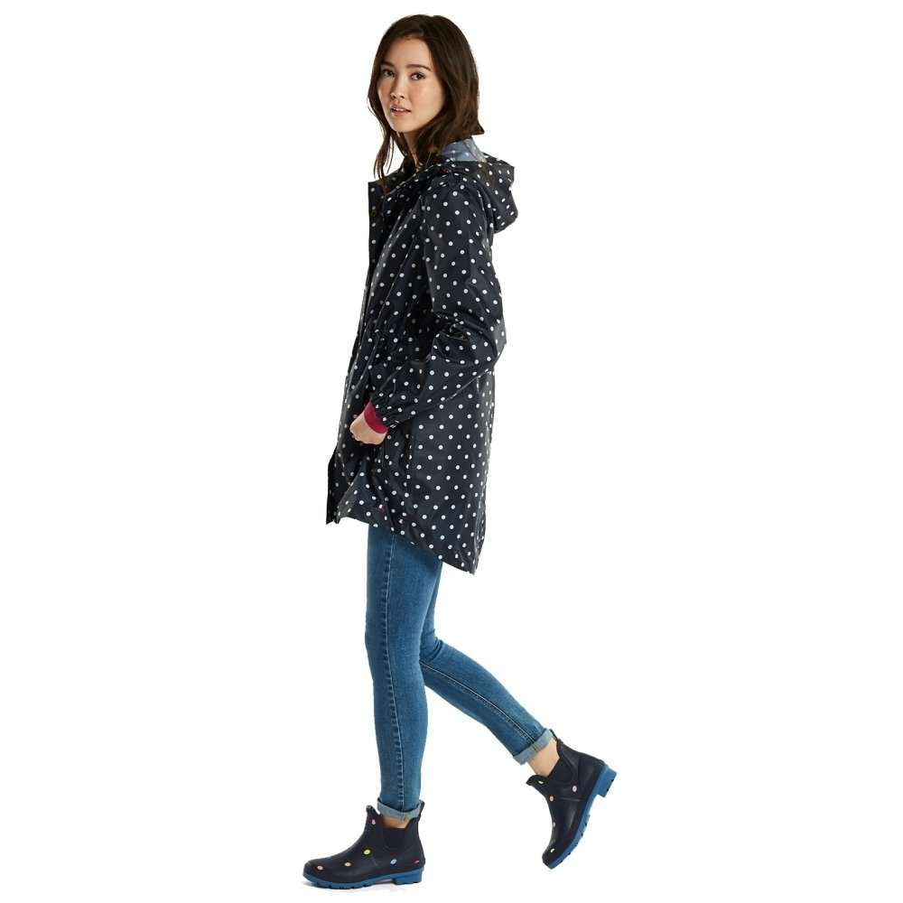 Joules Ygolightly Jacket 8 Reg Navy Spot by Joules (Image #6)