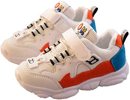 Zapatillas de Deporte para niños Primavera y otoño Botas de Running de Malla Transpirable niños y niñas Zapatillas Deportivas Planas Antideslizantes bebé Zapatos de niño Casuales Zapatos Salvajes: Amazon.es: Zapatos y complementos