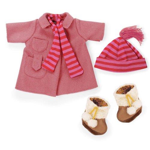 North American Bear Company Rosy Cheeks Big Sister Winter Coat - American North Bear Doll Toddler