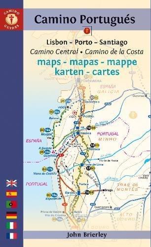Camino Portugués Maps - Mapas - Mappe - Karten - Cartes: Lisboa - Porto - Santiago (Camino Guides)