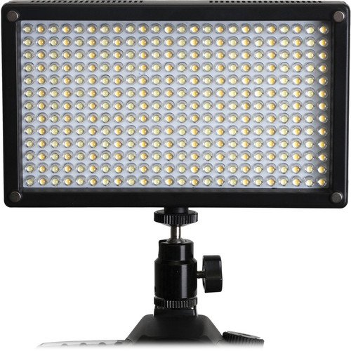 Genaray LED-7100T 312 LED Variable-Color On-Camera Light by Genaray