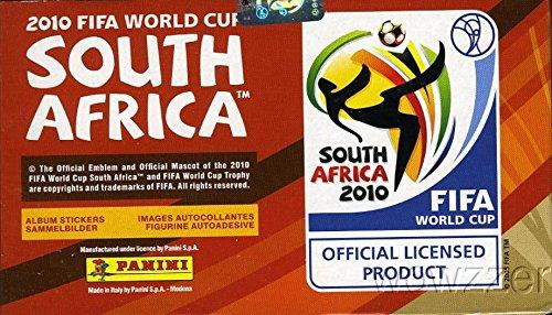 (2010 Panini FIFA World Cup Soccer Massive Original Factory Sealed 100 Pack Sticker Box)