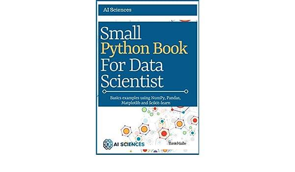 Amazon com: Small Python Book for Data Scientist: Basics