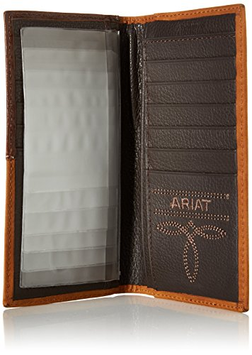 Corner Over Circle Men's Ribon Corner Over Men's Ariat Ariat Brown Rodeo Circle Ribon Rodeo z6Zznx8qR