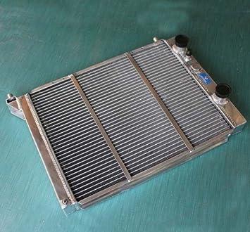 GOWE Radiador para nuevo radiador de aluminio para Lancia Delta, Prisma 2.0 4 WD; 1,6 HF Turbo/2.0 HF Integrale: Amazon.es: Coche y moto