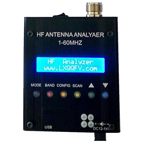 SODIAL(R) NEW MR300 Digital Shortwave Antenna Analyzer Meter Tester 1-60M For Ham Radio