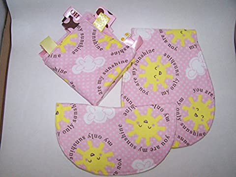 You Are My Sunshine Girls Baby Gift Set - Shine Flannel