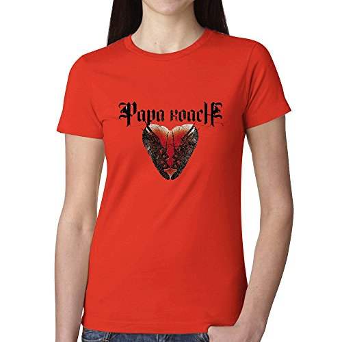 Papa Roach To Be Loved The Best Of Papa Roach Womens T-Shirt Red