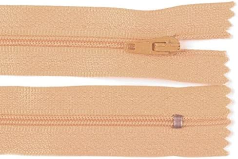 3mm Laufschiene Rei/ßverschluss pink Schnoschi 10 St/ück 12 cm Langer Spiralrei/ßverschluss Nicht teilbar