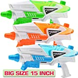 3 Pack Super Water Shooter Gun, High Capacity Water Soaker Blaster Squirt Toy for Swimming Pool Party Sand Beach Game, Outdoor Summer Water Fighting Toy for Adult Child Boy and Girl