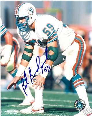 48efcd52348 BOB BRUDZINSKI MIAMI DOLPHINS SIGNED 8X10 at Amazon's Sports ...