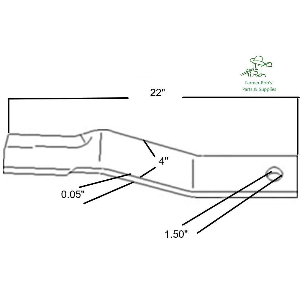 Amazon com: W49171 - Rotary Blade CCW, 22