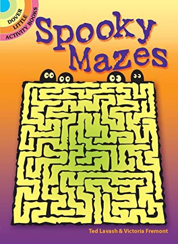 Spooky Mazes (Dover Little Activity Books)