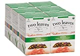 Two Leaves and a Bud Organic Detox Herbal Tea Bags for Recovery, 15 Count (Pack of 6) Organic Whole Leaf Herbal Tea in Pyramid Sachet Bags, Delicious Hot or Iced with Milk or Sugar or Honey or Plain For Sale