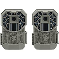 Stealth Cam G34 Pro 80 Range Game Trail Camera, 2 Pack (Certified Refurbished)