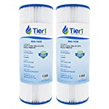 Tier1 Dynamic 17-2327, Pleatco PRB25-IN, 817-2500, R173429, Unicel C-4326, Filbur FC-2375 Comparable Replacement Spa Filter Cartridge 2-PACK