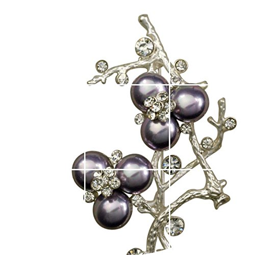 TKHNE Stylish colored temperament lady jewelry shell pearl brooch pin badge pin brooch pin badge wild decorations -