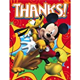 Disney Mickey Fun and Friends Thank You Notes Party Accessory, Health Care Stuffs