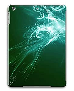 iPad Air Cases & Covers - Green And White Abstract Art PC Custom Soft Case Cover Protector for iPad Air