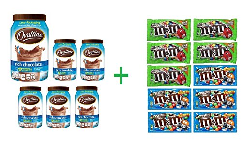 ovaltine-rich-chocolate-drink-mix-12-oz-pack-of-6-10-pack-of-mm-milk-chocolate-169oz