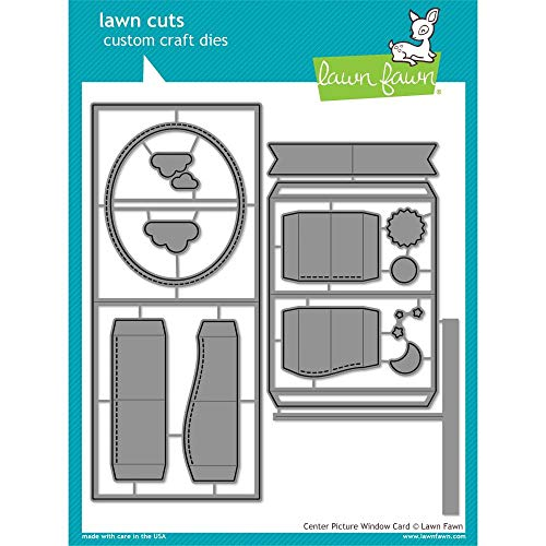 (Lawn Cuts Custom Craft Die-center Picture Window Card)