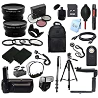 EVERYTHING YOU NEED SLR KIT: for Nikon D3000 Digital SLR Camera