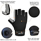 Intra-FIT Half-Finger Climbing Gloves Padded Palm