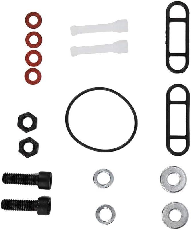 Vergaser-Einlass-Kit 2 St/ück//Set Vergaser-Ansaugkr/ümmer Kraftstoffventil-Schalter Passend f/ür Yamaha Big Bear 350 YFM350 87-99 KIMISS Kraftstoffventilschalter-Kit