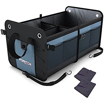 Amazon Com Feezen Car Trunk Organizer Best For Suv Vehicle