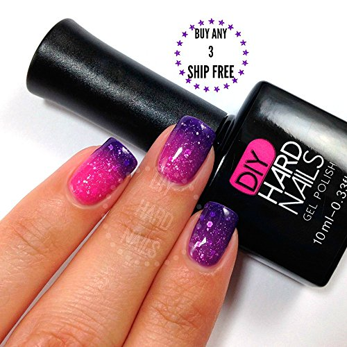 Gelaxy Gel Nail Polish: Best Temperature Color Changing UV Soak Off Gel Nail
